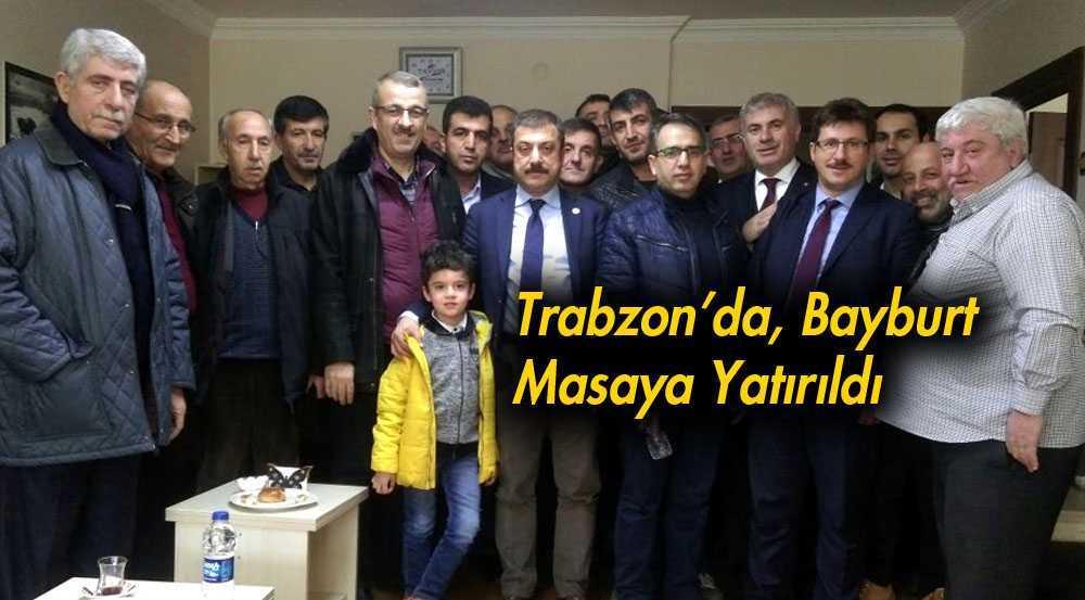Trabzon'da Bayburt Masaya Yatırıldı…