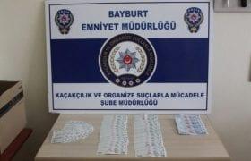 Bayburt'ta Piyasaya Sahte Para Sürmek İsteyen 1 Kişi Yakalandı