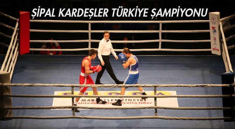 Şipal Kardeşler Türkiye Şampiyonu