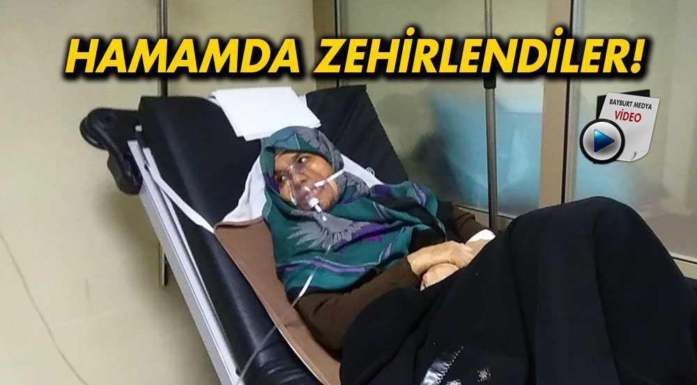 Bayburt'ta, Hamamda Zehirlenen Kadınlar Hastanelik Oldu