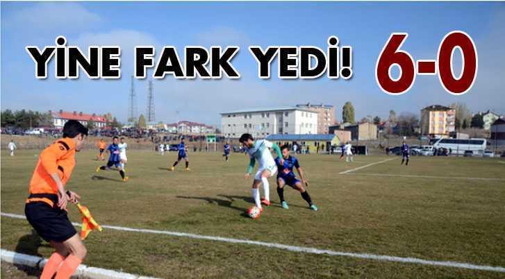 Bayburt Belediye Spor Dibe Çakıldı