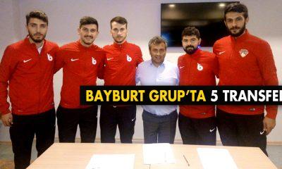 Bayburt Grup 5 Futbolcuyu Kadrosuna Dahil Etti