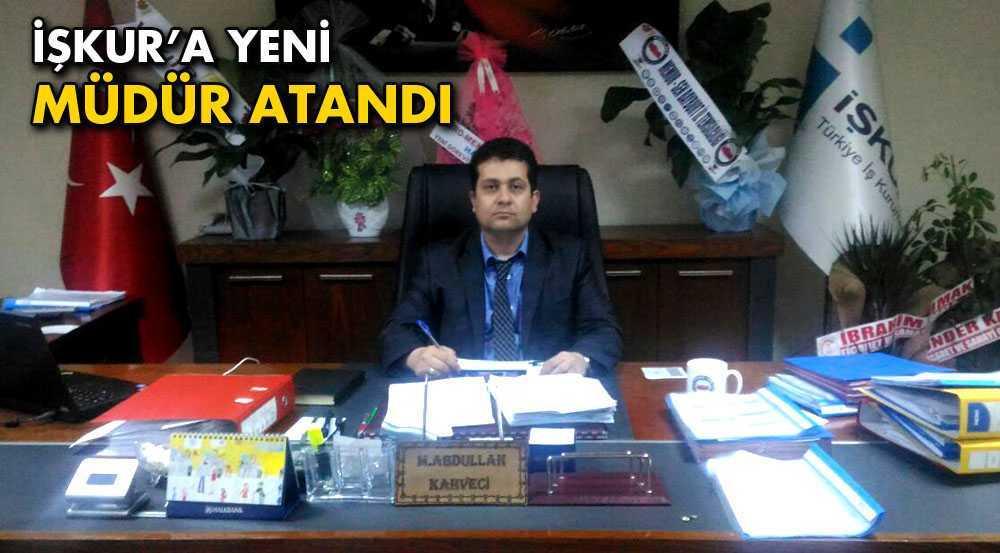 Bayburt İŞKUR İl Müdürlüğüne Kahveci Atandı