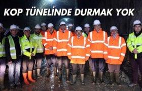 Bayburt Valisi Ustaoğlu, Kop Tünelinde Çalışmaları İnceledi