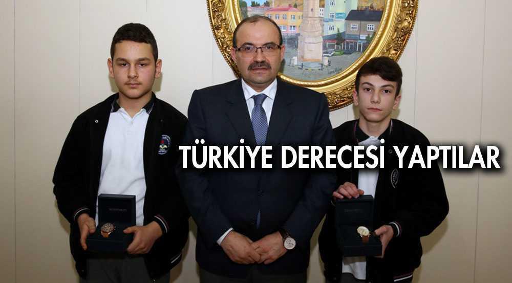 Bayburt'lu Öğrencilerden Türkiye Derecesi