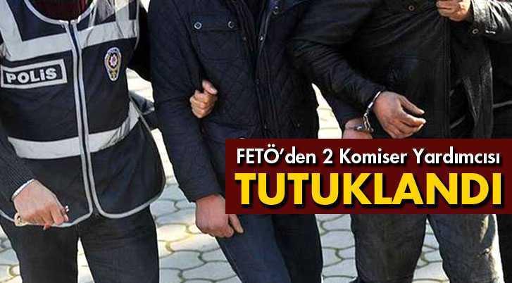 Bayburt'ta 2 Komiser Yardımcısı Tutuklandı