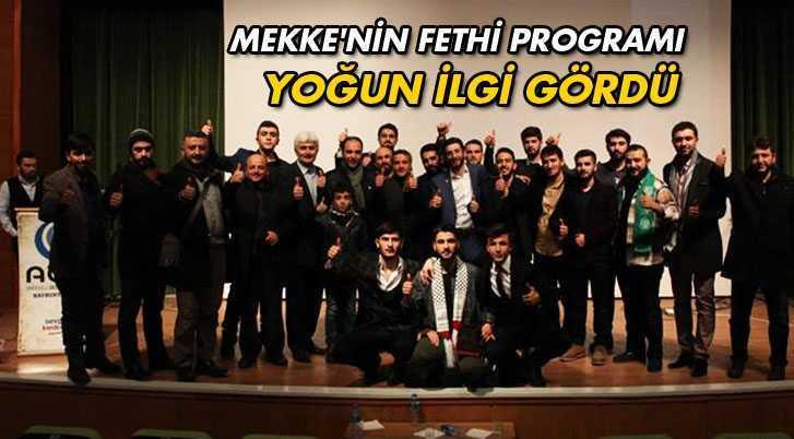AGD'nin Düzenlediği Mekke'nin Fethi Programına Yoğun İlgi