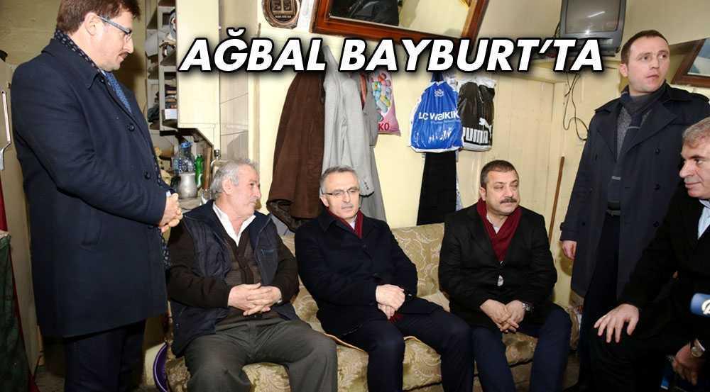 Maliye Bakanı Naci Ağbal, Memleketi Bayburt'ta