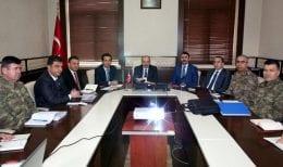 Bayburt'ta Referandum Öncesi Güvenlik Toplantısı