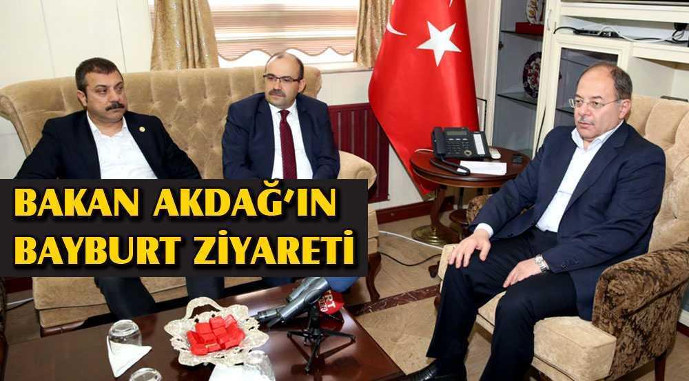 Sağlık Bakanı Recep Akdağ,ın Bayburt Ziyareti