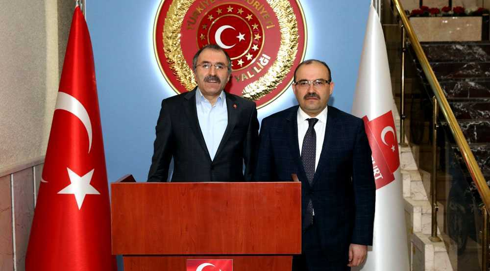 Bakan Yardımcısı Yavilioğlu, Vali Ustaoğlu'nu Ziyaret Etti