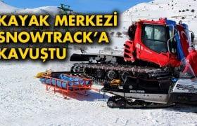 Bayburt Kop Dağı Kayak Merkezi Snowtrack'a Kavuştu