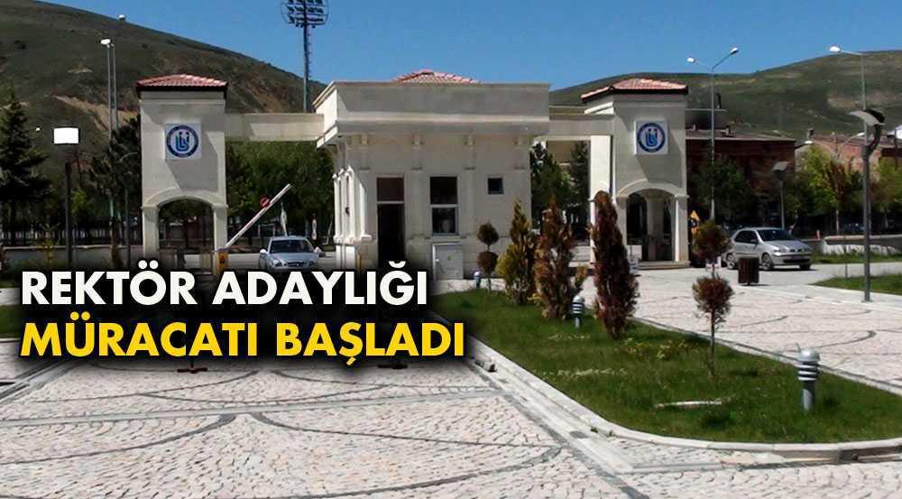 Bayburt Üniversitesi Rektör Adaylığı Müracaatları Başladı