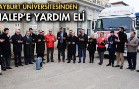 Bayburt Üniversitesinden Halep'e Yardım Eli…