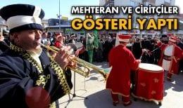 Mehteran ve Ciritçiler Törenlere Renk Kattı