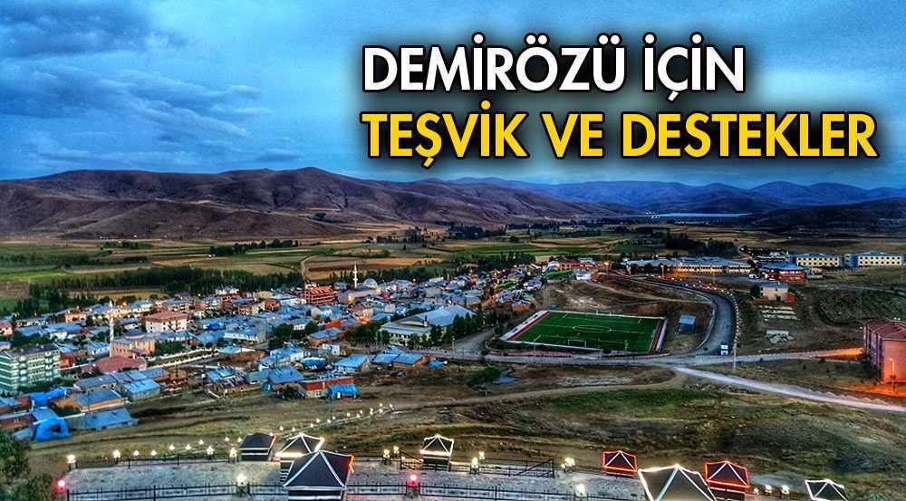 Demirözü'nde Bir Çok  Proje İçin Düğmeye Basıldı