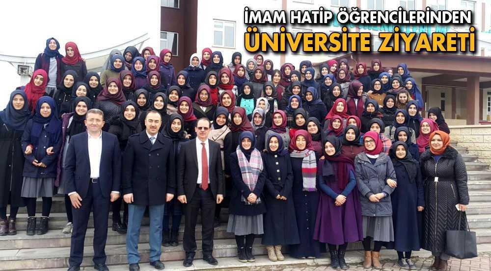 İmam Hatip Öğrencilerinden Üniversiye Ziyareti