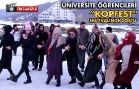 """Bayburt Üniversitesi Öğrencileri """"KOPFEST"""" İle Coştu…"""