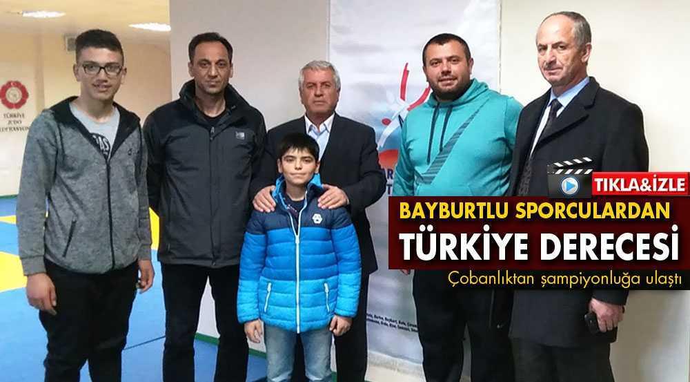 Bayburtlu Judoculardan 2 Türkiye Derecesi