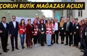 Bayburt Üniversitesi'nde Kızılay Mağazası Açıldı