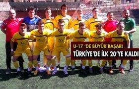 Bayburt Grup Özel İdare Spor U-17 Bölge Şampiyonu Oldu