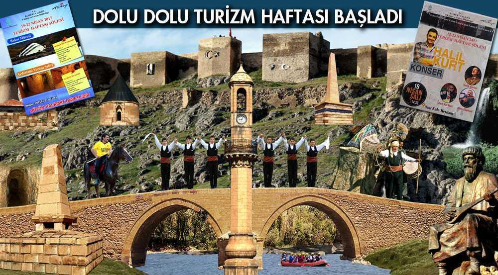 Bayburt'ta Dolu Dolu Turizm Haftası Başladı