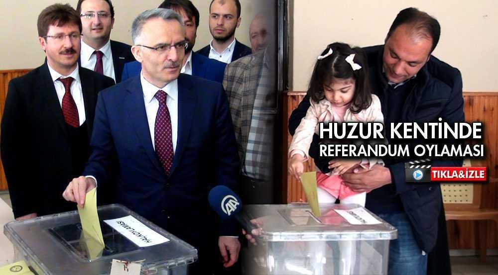 Bayburt'ta Referandum Oylamasına Yoğun İlgi