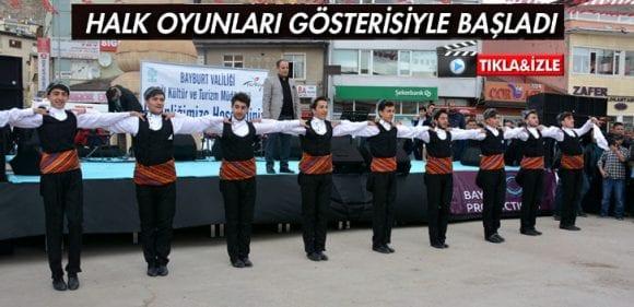 Bayburt'ta Turizm Haftası Etkinlikleri Başladı
