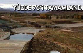 Akşar Mehmet Aslan Barajı'nda Sona Yaklaşıldı