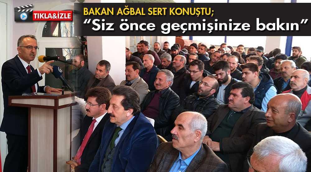 """Bakan Ağbal, """"Bayburtlu Pazar Akşamı Tarih Yazacak"""""""