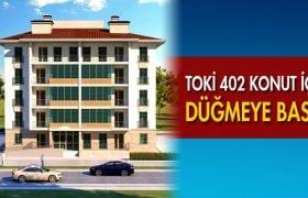 TOKİ Bayburt'ta Yapılacak Olan 402 Konutun İhalesini Yaptı