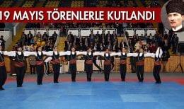 19 Mayıs Bayramı Bayburt'ta Törenlerle Kutlandı