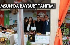 Samsun'da Bayburt Standına Yoğun İlgi…