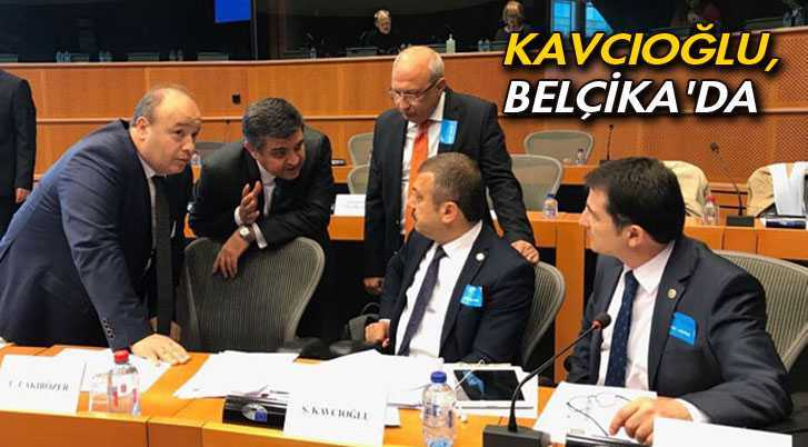 Bayburt Milletvekili Kavcıoğlu, Belçika'da