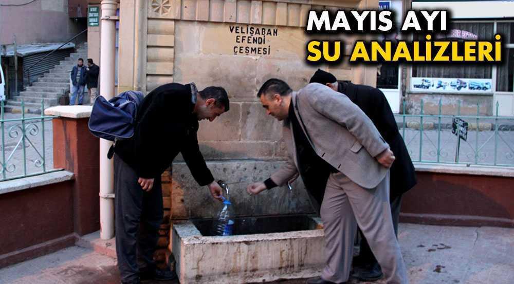 Mayıs Ayı Su Analiz Sonuçları Açıklandı
