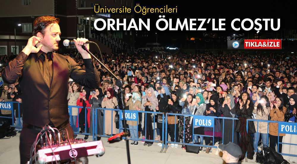 Bayburt Üniversitesinden Orhan Ölmez Konseri