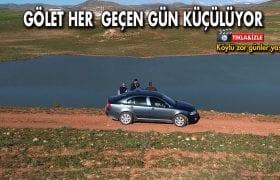 Danişment Göleti Suya Kavuşacağı Günleri Bekliyor
