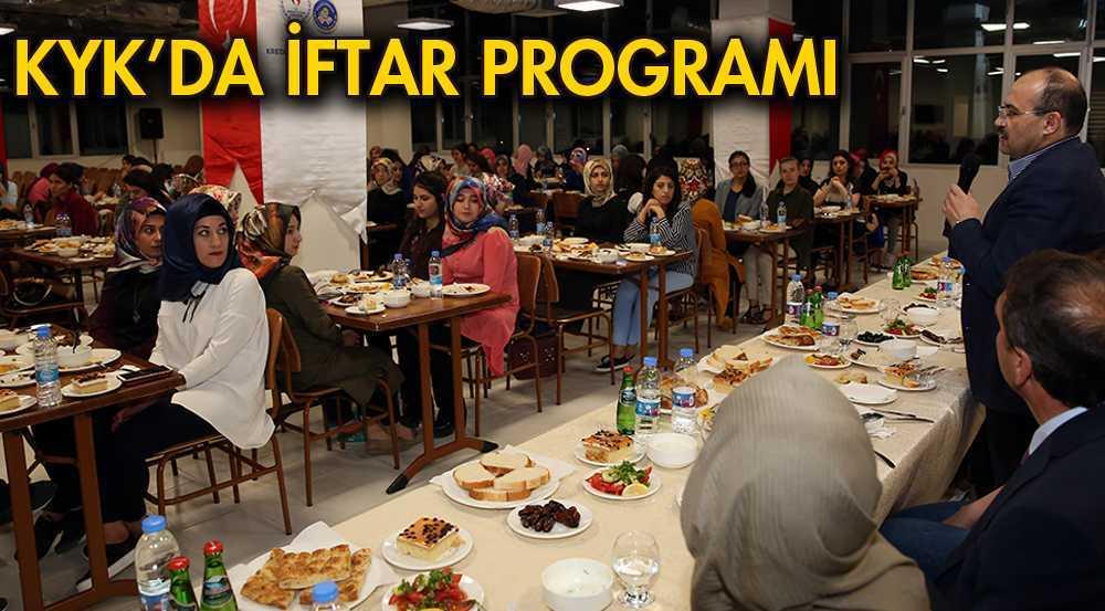 Sultan Fahriye Kız Öğrenci Yurdunda İftar Programı