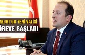 Bayburt'un Yeni Valisi Ali Hamza Pehlivan Göreve Başladı