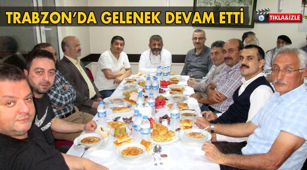Trabzon Bayburtlular Derneğinde Gelenek Devam Etti