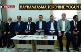 Bayburt'ta Ramazan Bayramı Buluşmasına Yoğun İlgi