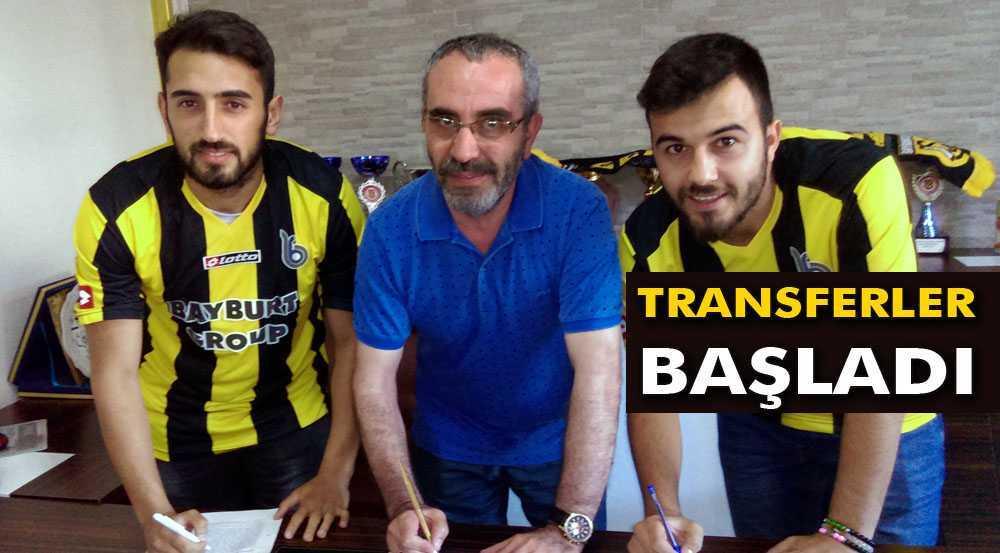 Bayburt Grup'ta Transferler Başladı