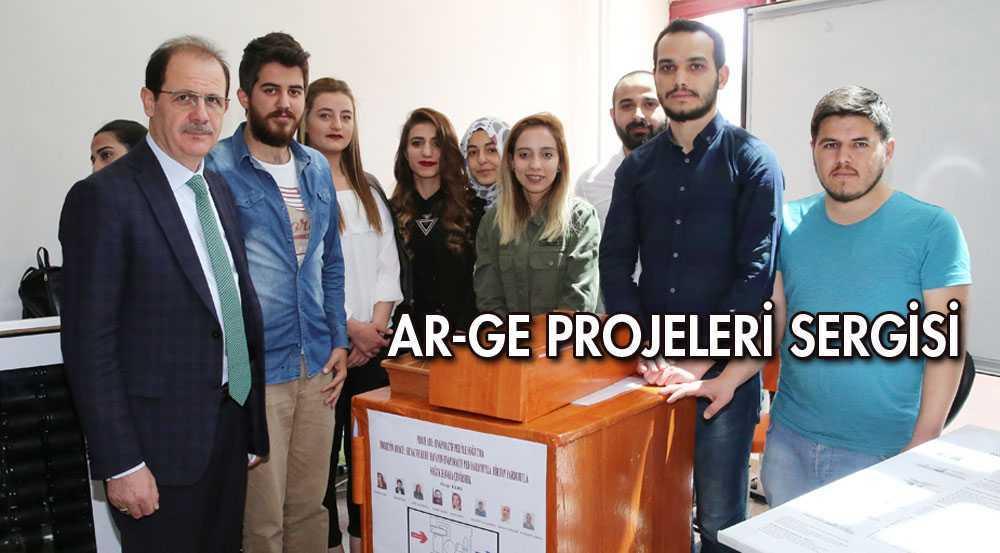 Makine Mühendisliği Bölümü Ar-Ge Projeleri Sergisi