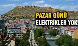 Bayburt İl Genelinde Elektrik Kesintisi Uygulanacak