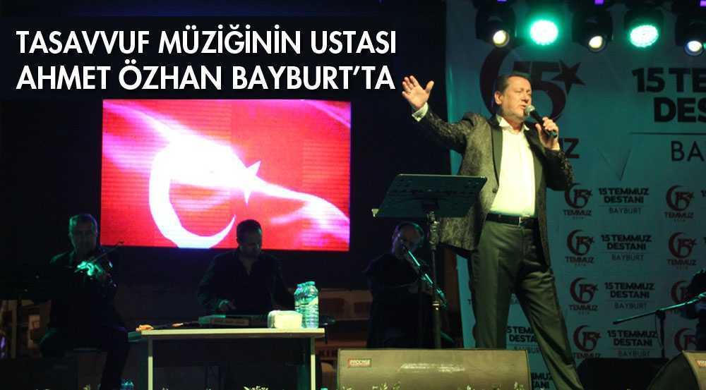 Ahmet Özhan Şölenlerde Sahne Aldı…