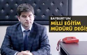 Bayburt'un Yeni Milli Eğitim Müdürü Soner Can Oldu