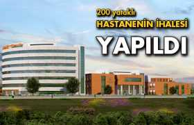 Bayburt'ta Yapılacak Olan 200 Yataklı Hastanenin İhalesi Gerçekleşti
