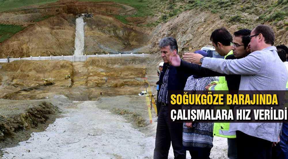 Bayburt Soğukgöze Barajı Tamamlanıyor