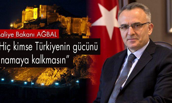Bakan Ağbal, Terör Örgütlerine Yönelik Sert Konuştu