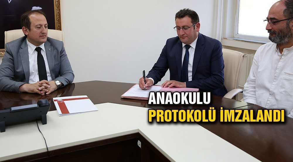"""81 İl 81 Anaokulu"" Projesi Protokol İmzalandı"